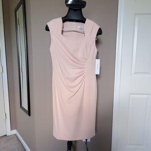 NWT Blush Colored Calvin Klein Dress, Size 10